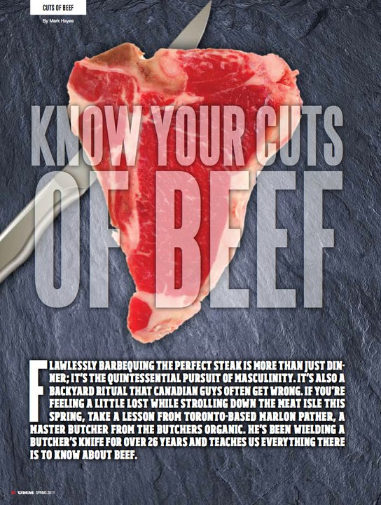 Know Your Cuts of Beef Mark Hayes Urban Male Magazine 1