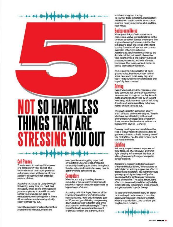 UMM Magazine Mark Hayes