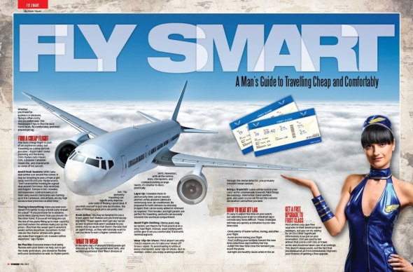 FLY SMART Mark Hayes UMM Magazine