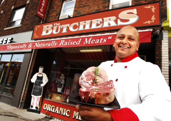 Marlon Pather Butchers Organic Toronto