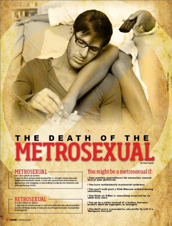 Metrosexual Mark Hayes