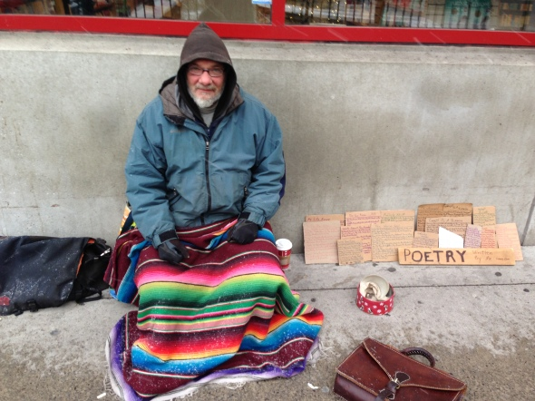 Crazzy Dave Byward Ottawa Homeless Poet